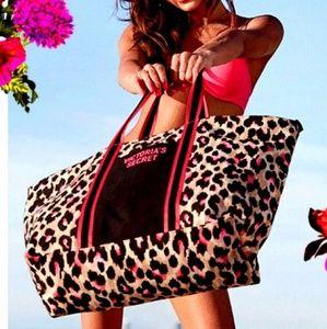 PINK Leopard Bag
